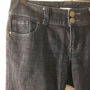 CAbi | Straight Leg | Dark wash jeans | Size 4